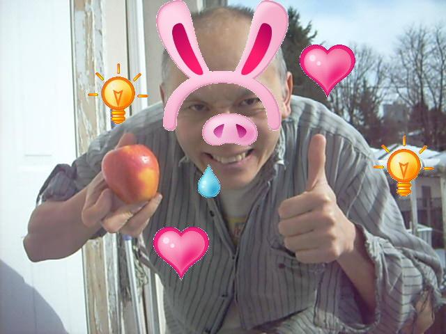 pig for apple pick me