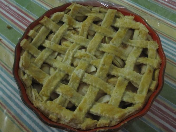 ambrosia apple pie