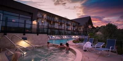 Summerland Resort sunset