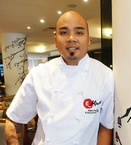 Chef Alan Ferrer