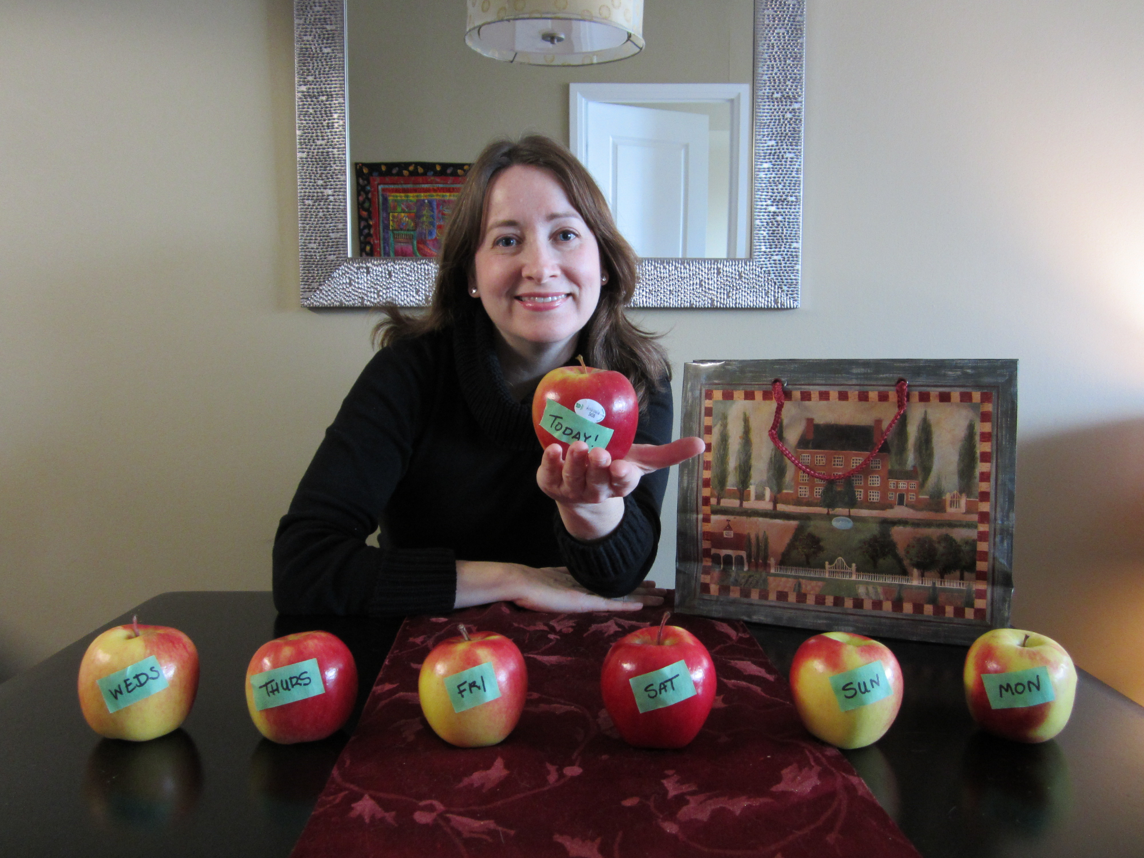 an ambrosia apple a day