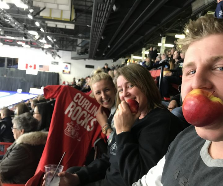 snacking at the brier
