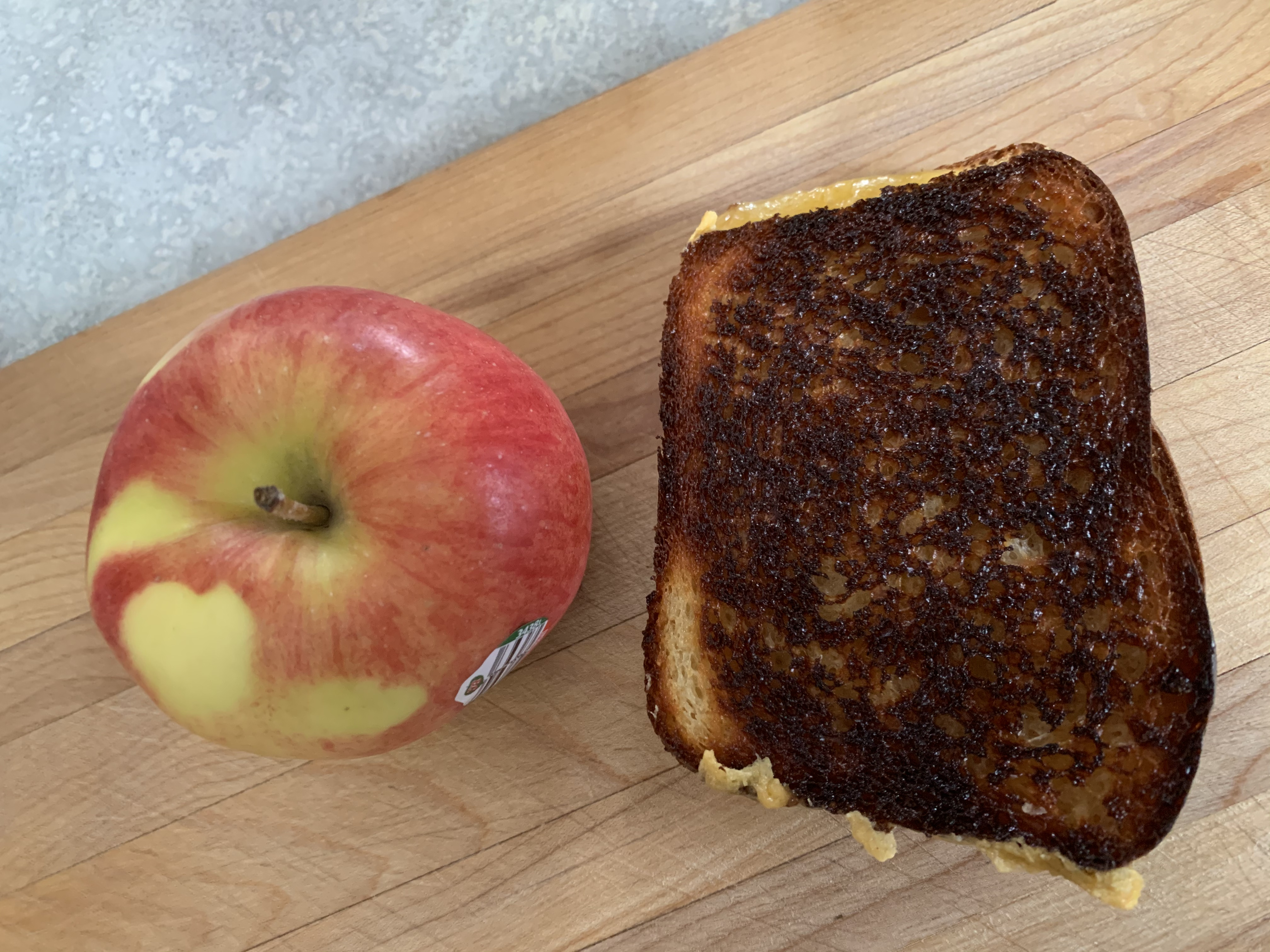 ambrosia and grilled cheese