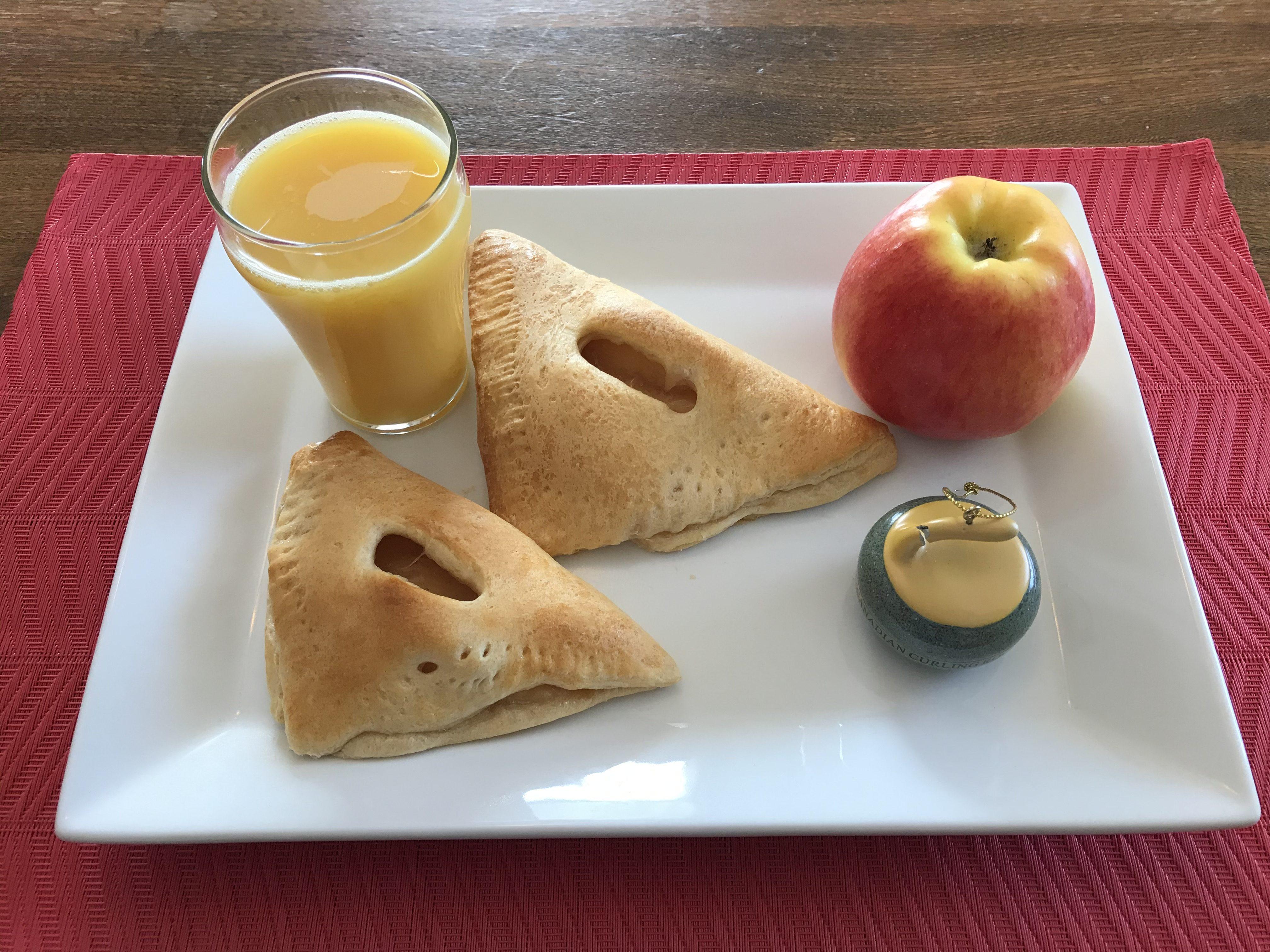 breakfast of curling champions