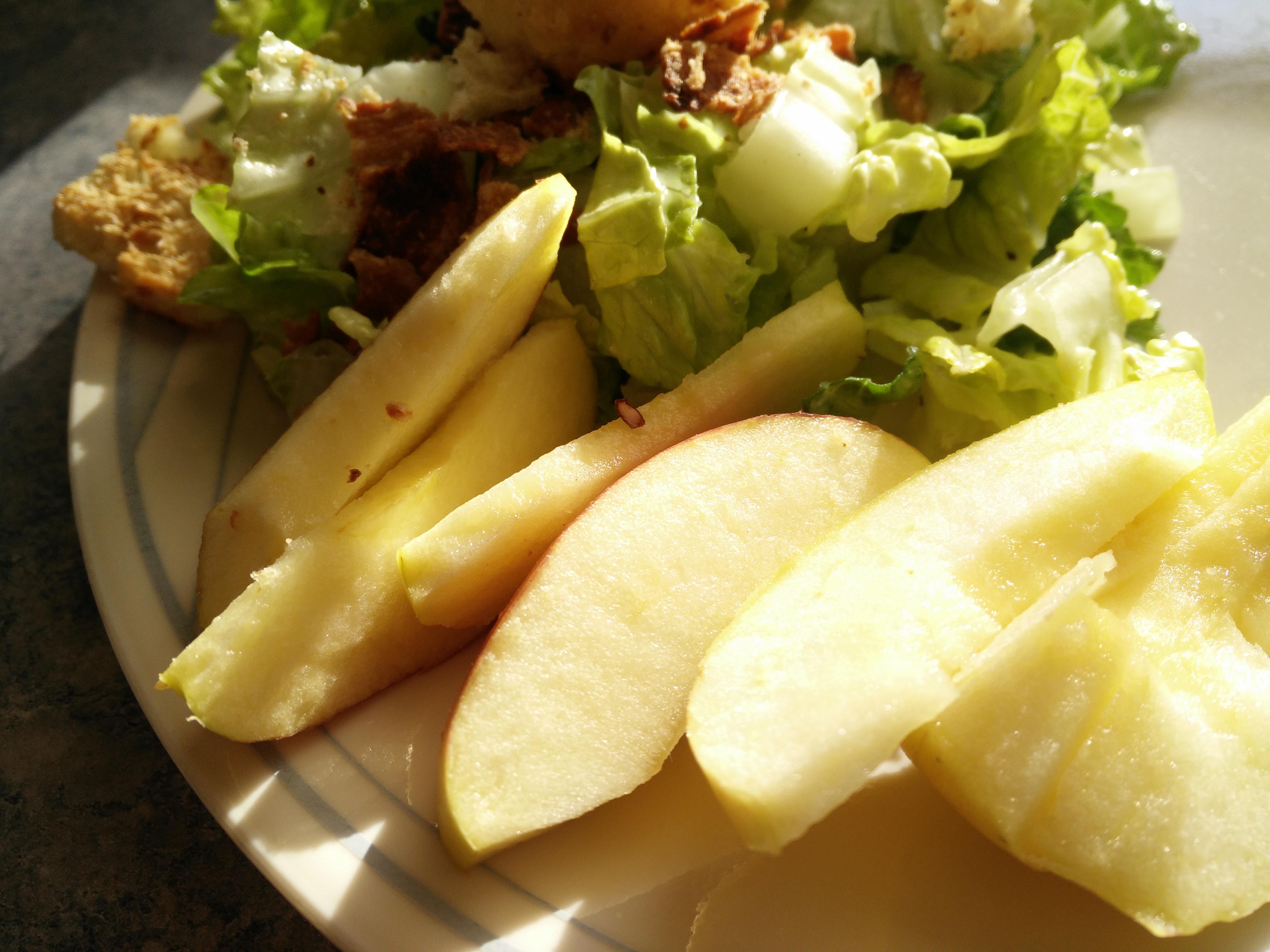 ambrosia with kale salad
